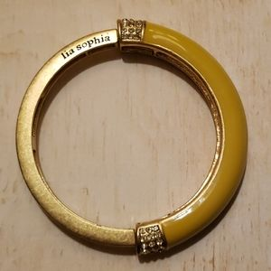 Lia Sophia- Marigold stretch bangle
